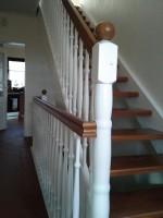 Treppen, Schleifen, Holztreppe
